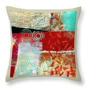 Edge 50 Throw Pillow by Jane Davies
