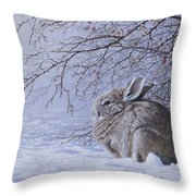 Edge Of The Briars Throw Pillow