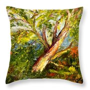 Edge Of The Pasture Throw Pillow