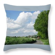 Edge Of Town Throw Pillow