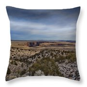 Edges Of The Grand Canyon Throw Pillow