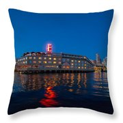 Edgewater The Big Red E Throw Pillow
