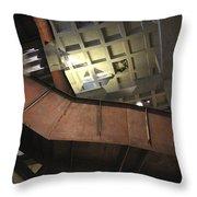 Underground Museum  Throw Pillow