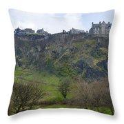 Edinburgh Castle - Scotland  Throw Pillow