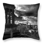 Edinburgh From Calton Hill Throw Pillow