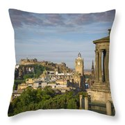 Edinburgh Sunrise Throw Pillow