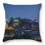 Edinburgh Twilight Throw Pillow