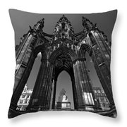 Edinburgh's Scott Monument Throw Pillow