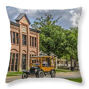 Edison Model T Ford Throw Pillow