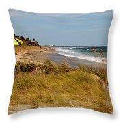 Edisto Beach By Jan Marvin Throw Pillow