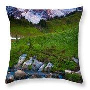 Edith Creek Throw Pillow