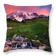 Edith Creek Sunrise Throw Pillow