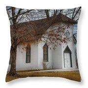 Edmonds Chapel 1891 Throw Pillow