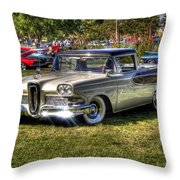 Edsel Ranchero Throw Pillow