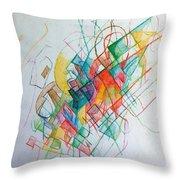 Education 1 Throw Pillow by David Baruch Wolk