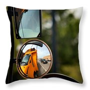 Education Reflection Throw Pillow
