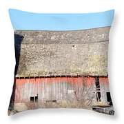 Eduring Time Throw Pillow
