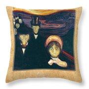Edvard Munch 2 Throw Pillow