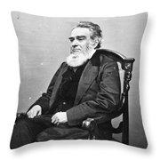 Edward Bates (1793-1869) Throw Pillow