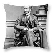 Edward Bulwer Lytton (1803-1873) Throw Pillow
