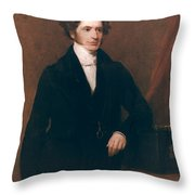 Edward Stanley (1799-1869) Throw Pillow