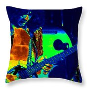 Edward The Shredder Throw Pillow