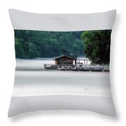 Eerie Day Throw Pillow