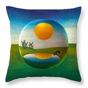 Eeyorb  Throw Pillow