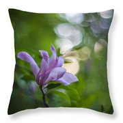 Effervescent Magnolia Throw Pillow