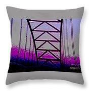 Effervescent Two Throw Pillow