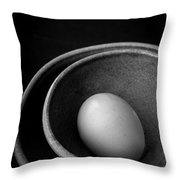 Egg Open Edition Throw Pillow