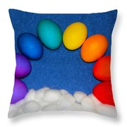 Eggbow Throw Pillow