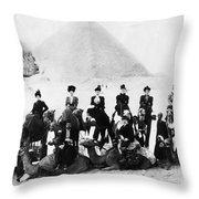 Egypt C1895 Throw Pillow