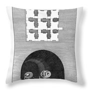 Egypt: Mummies Throw Pillow