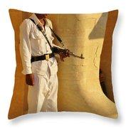 Egypt Tourist Security Throw Pillow