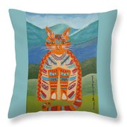 Egyptian Don Juan Throw Pillow