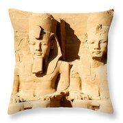 Egyptian Eternity Throw Pillow