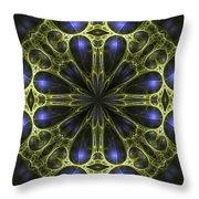 Egyptian Gold Throw Pillow