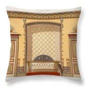 Egyptian Interior , From Interior Throw Pillow