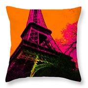 Eiffel 20130115v1 Throw Pillow
