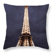 Eiffel Tower-1 Throw Pillow