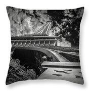 Eiffel Tower Las Vegas Throw Pillow