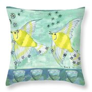 Eight Of Cups Throw Pillow