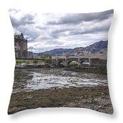 Eilean Donan Castle - 1 Throw Pillow