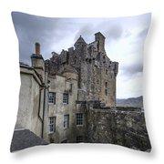 Eilean Donan Castle - 5 Throw Pillow
