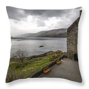 Eilean Donan Castle - 6 Throw Pillow