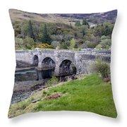 Eilean Donan Castle - 8 Throw Pillow