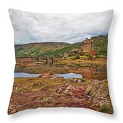 Eilean Donan Throw Pillow