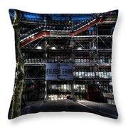 Eileen Gray At The Pompidou Throw Pillow