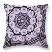 Einstein Mandala Throw Pillow